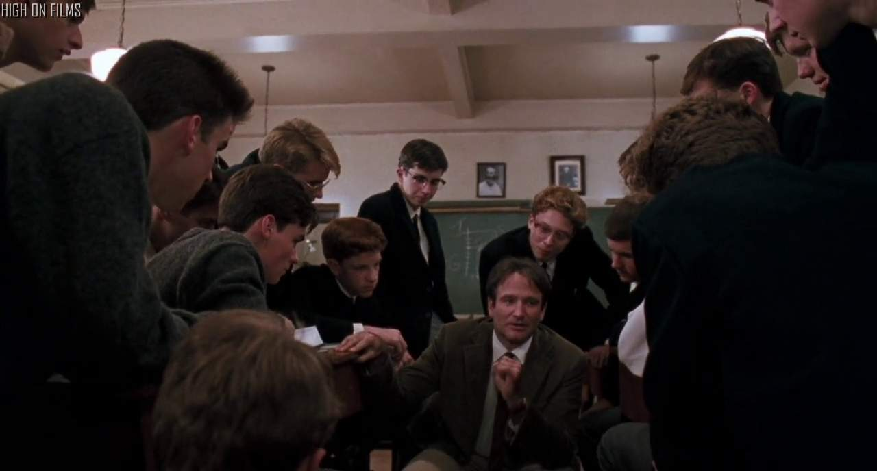 Dead Poets Society 1989 Taking The Road Less Traveled By High On Films